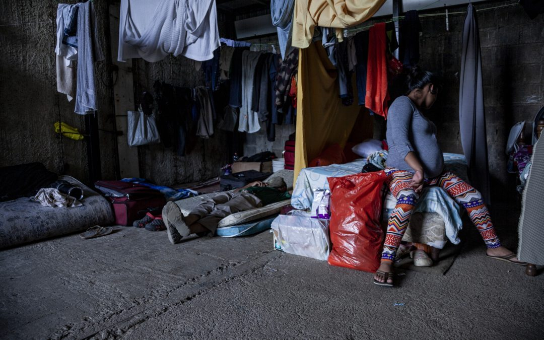 Gina, solicitante de refúgio nicaraguense na Costa Rica