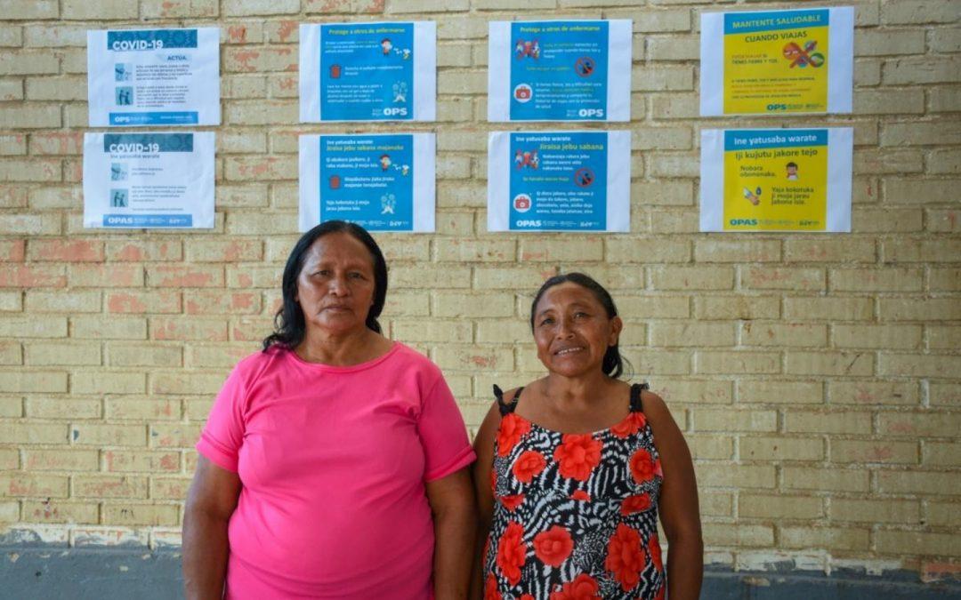 Waraos deslocadas no Brasil