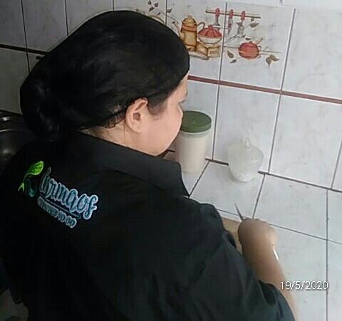 Yésica, enfermeira venezuelana